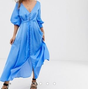 NWT Free People later days midi dress